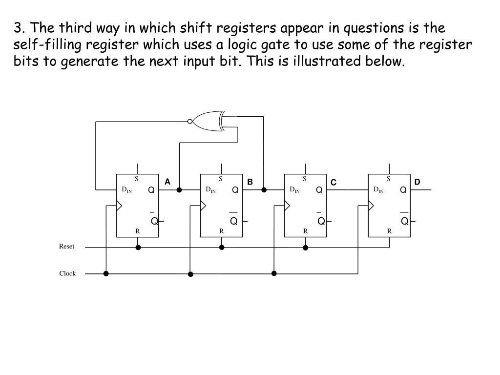 Block Diagram Of Piso Register