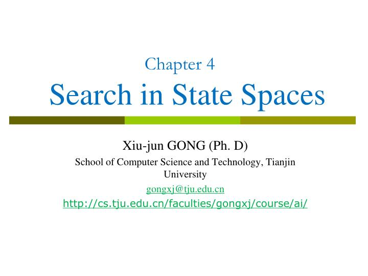 chapter 4 search in state spaces n.