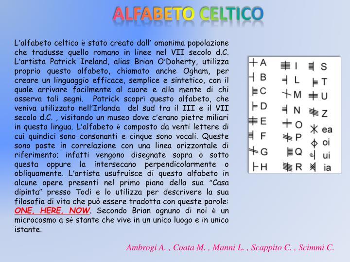 Alfabeto celtico