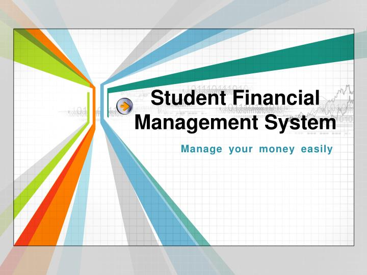 student financial management system n.