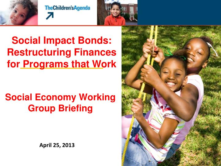 social economy working group briefing n.