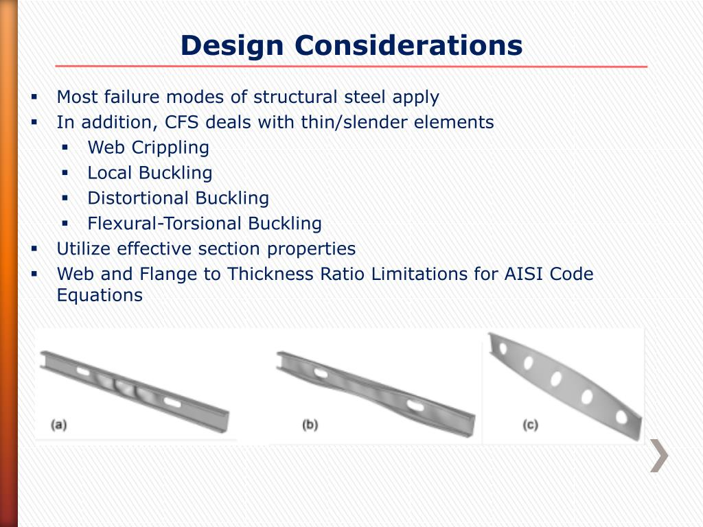 PPT - Cold-Formed Steel History, Innovation and Design PowerPoint