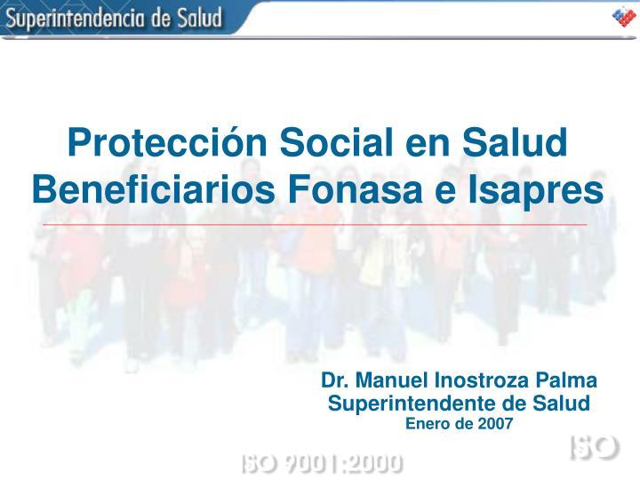 Protección Social en Salud