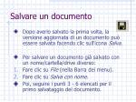 salvare un documento5