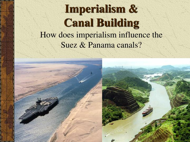 imperialism canal building n.