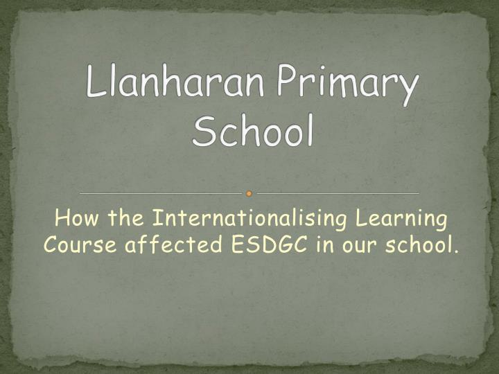 how the internationalising learning course affected esdgc in our school n.