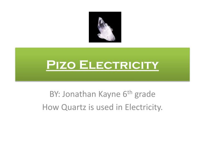 pizo electricity n.