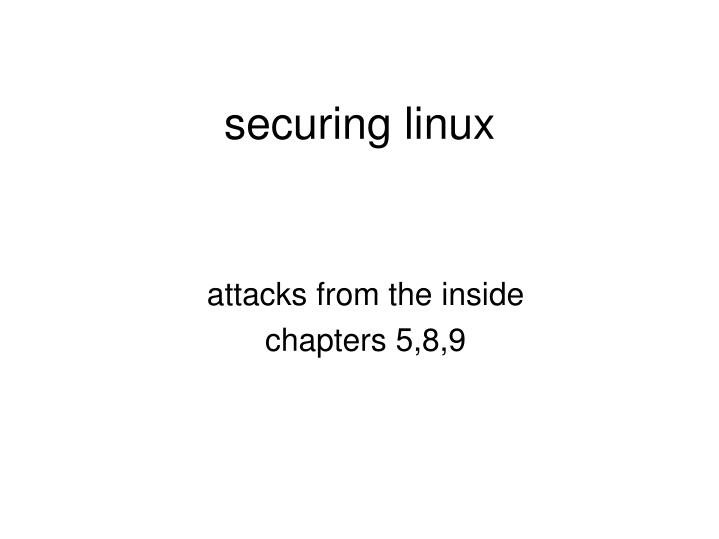 attacks from the inside chapters 5 8 9 n.