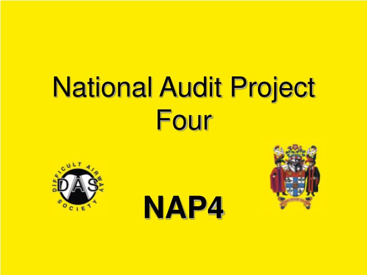 national audit project four n.