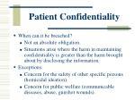 patient confidentiality4