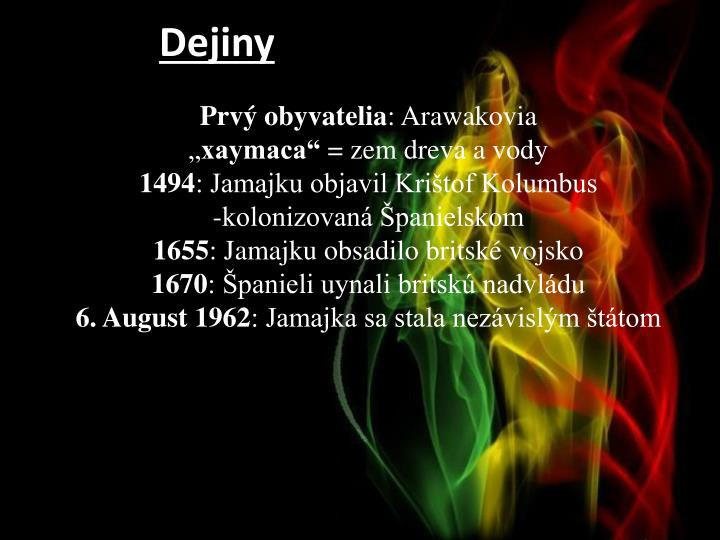 Dejiny