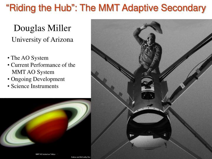 riding the hub the mmt adaptive secondary n.