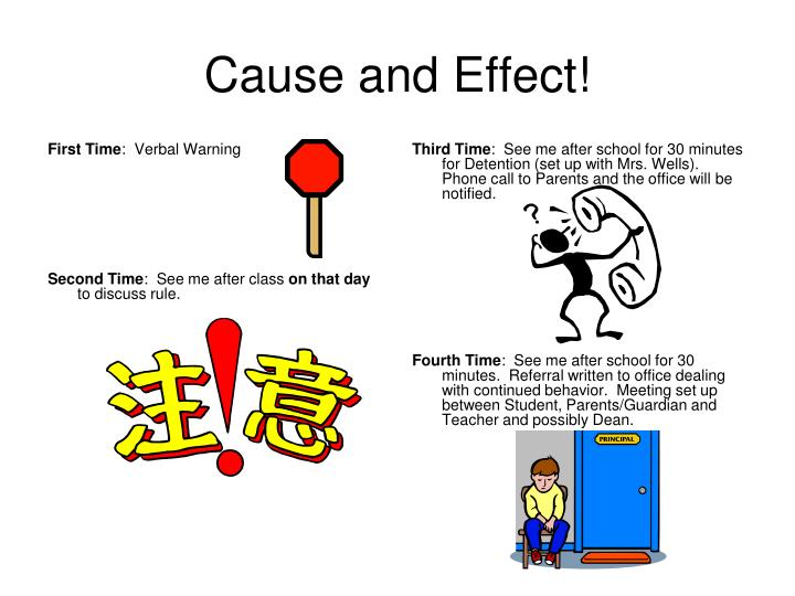 Cause and Effect!