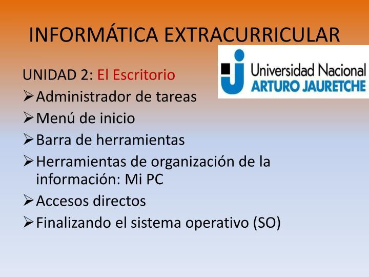 Inform tica extracurricular1