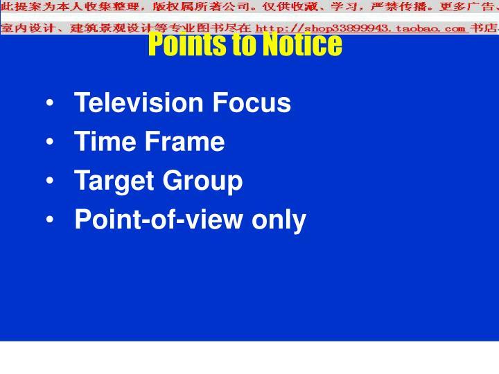 Television Focus
