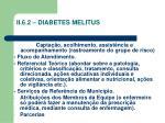 ii 6 2 diabetes melitus
