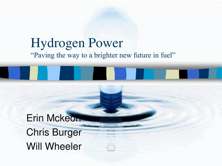 hydrogen power paving the way to a brighter new future in fuel n.