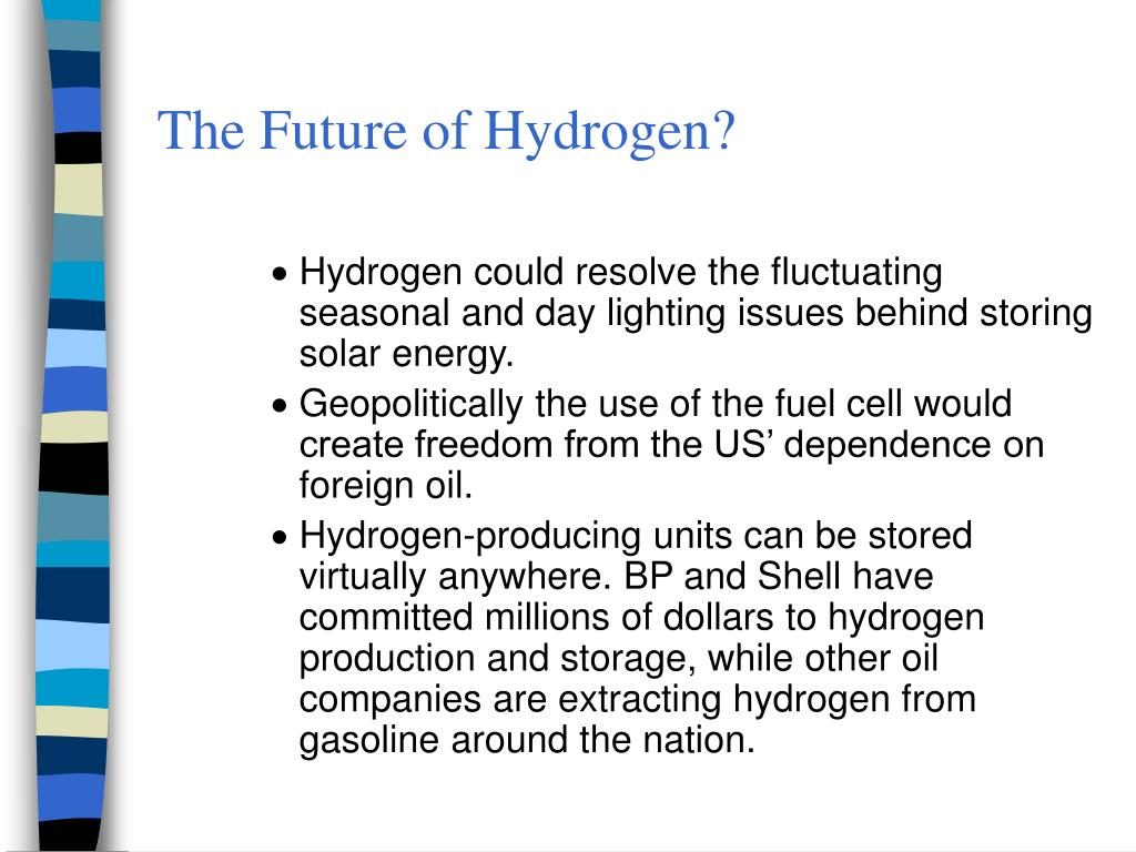"PPT - Hydrogen Power ""Paving the way to a brighter new"