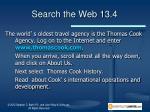 search the web 13 4