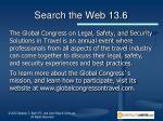 search the web 13 6