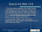 search the web 13 9