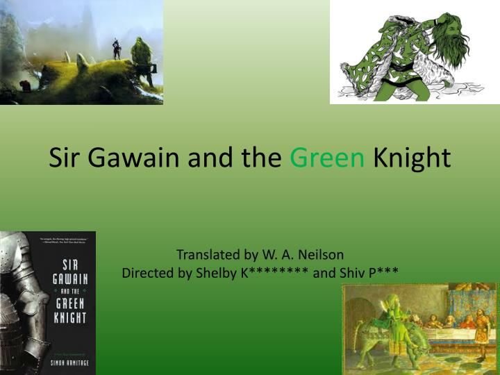 a literary analysis of the major themes in sir gawain and the green knight Sir gawain and the green knight is a middle english romance poem written by an anonymous west midlands poet also credited with a lot of other poems written during that time.