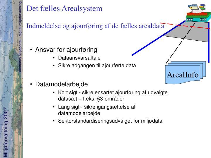 Det fælles Arealsystem