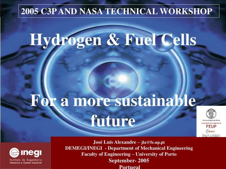 hydrogen fuel cells for a more sustainable future n.