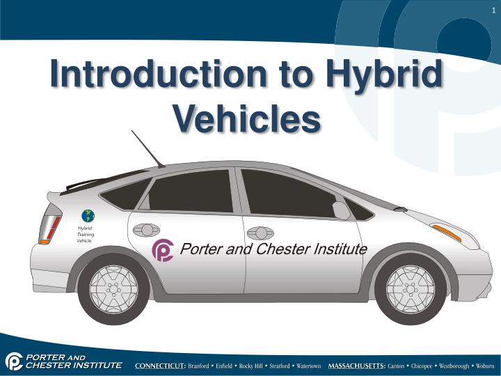 introduction to hybrid vehicles n.