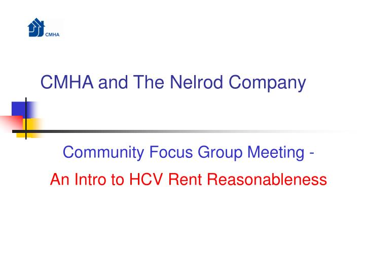cmha and the nelrod company n.