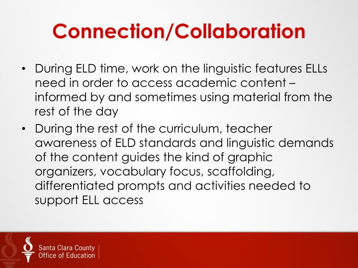 Connection/Collaboration