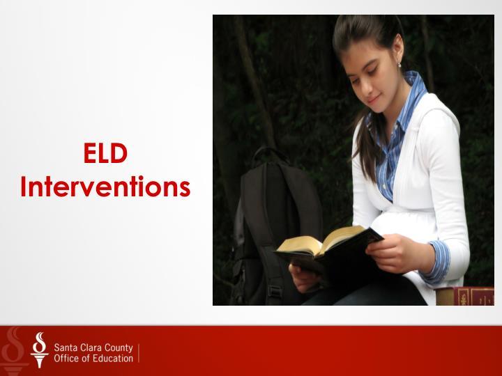 ELD Interventions