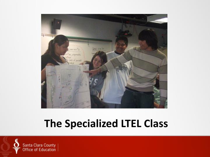 The Specialized LTEL Class