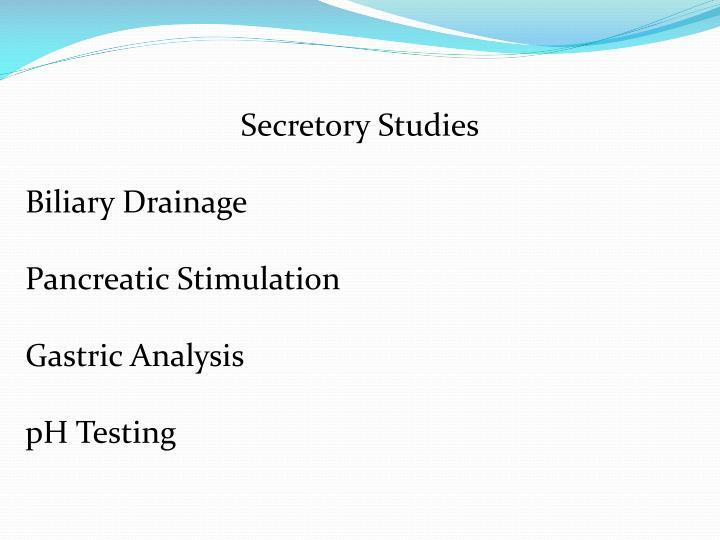 Secretory