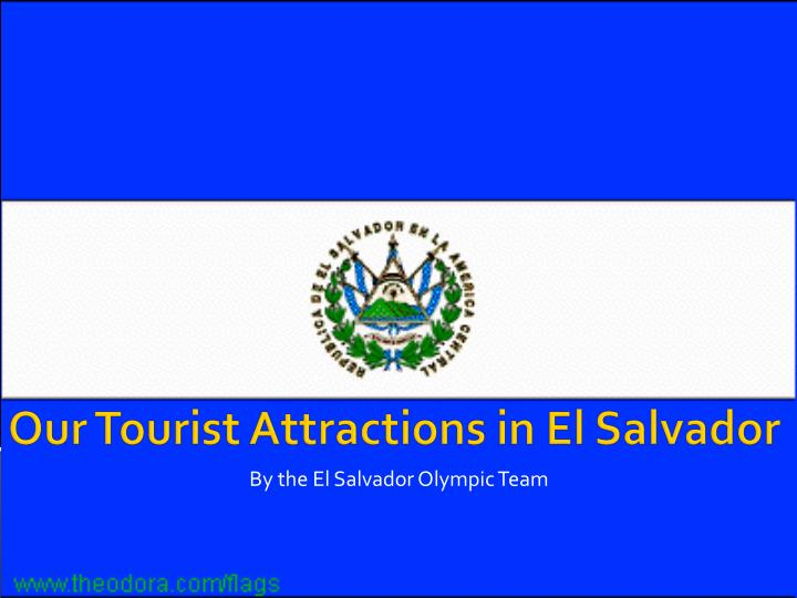 by the el salvador olympic team n.