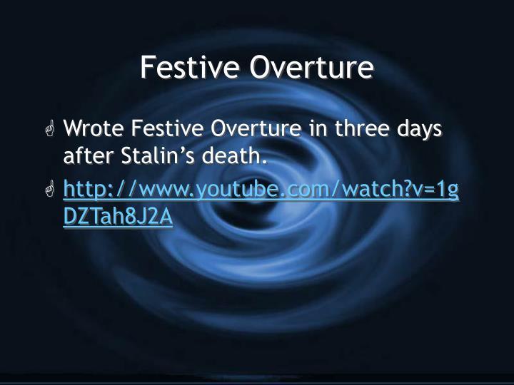 Festive Overture