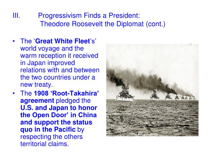 Ppt America On The World Stage 1899 1909 Progressivism And The