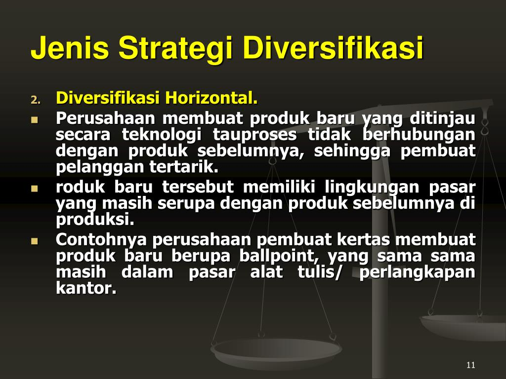 strategi bisnis diversifikasi yang tidak terkait