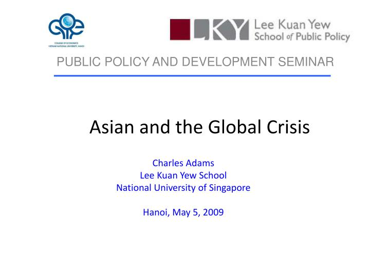 asian and the global crisis n.