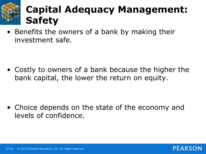 Capital Adequacy Management: Safety