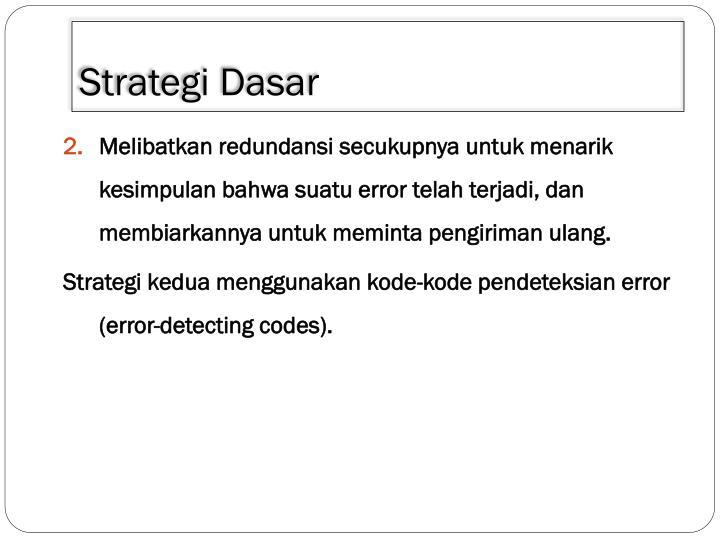 Strategi dasar