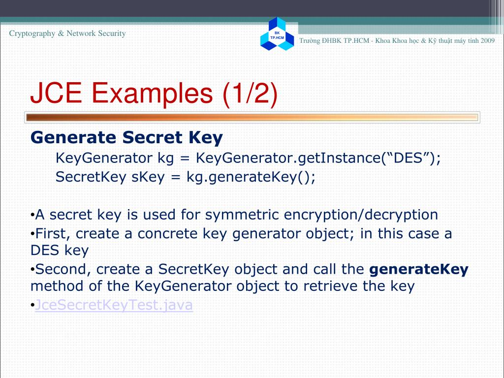 PPT - Cryptography & Network Security Exercise 2 PowerPoint