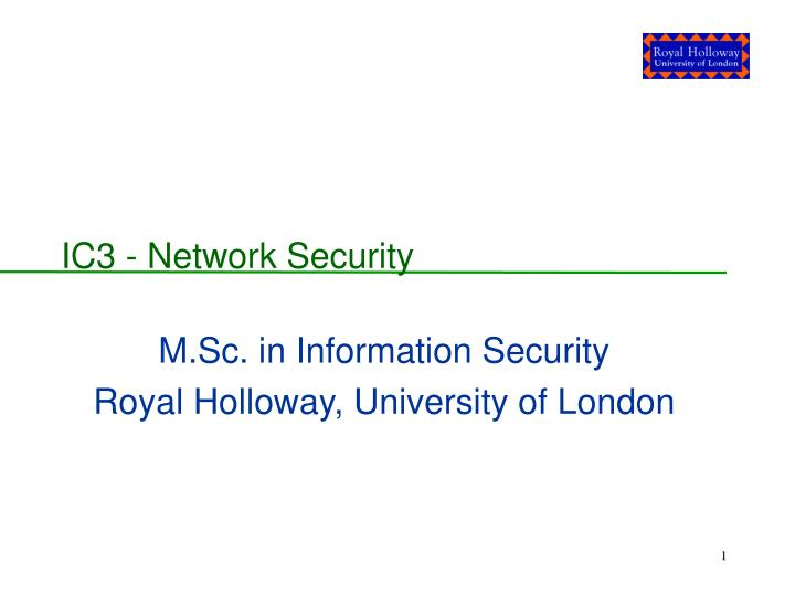 m sc in information security royal holloway university of london n.