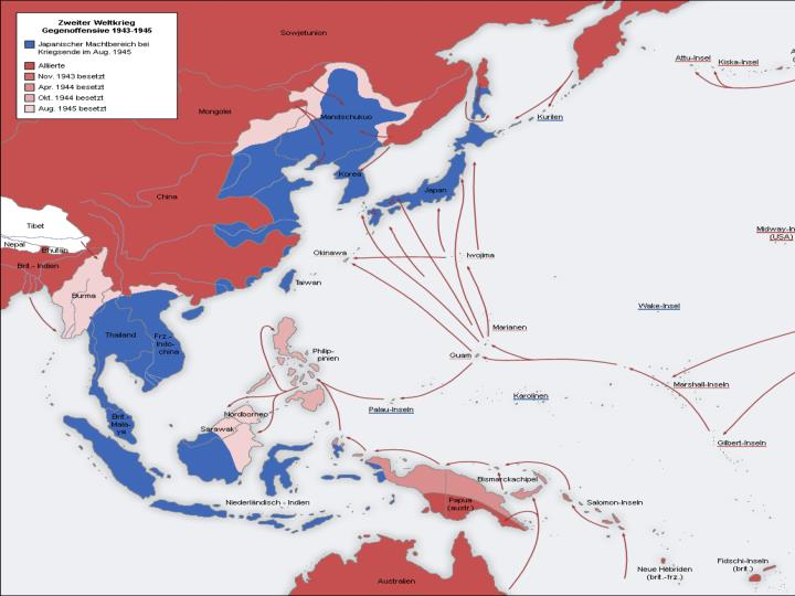 Japanese Control 1945