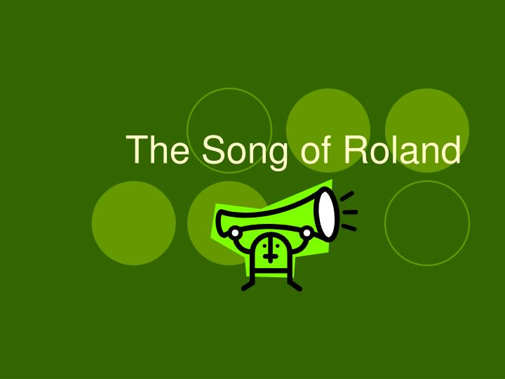 the song of roland n.