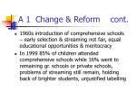 a 1 change reform cont
