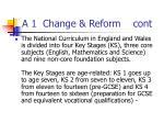 a 1 change reform cont2