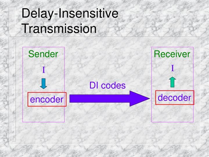 Delay-Insensitive Transmission