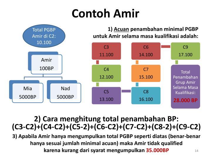Contoh Amir