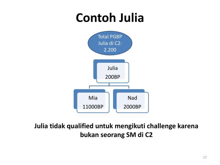 Contoh Julia